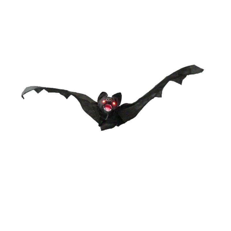 Fledermaus Mit Led Augen Grusel Ton Animierte Flügel 80cm Hall
