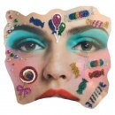 Gesichts Tattoo Face Art Candy Kamelle Halloween Karneval