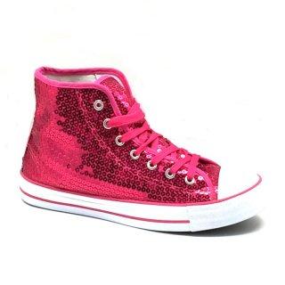 huge selection of 6fde6 c78dc Pailletten Schuhe Pink 36-42